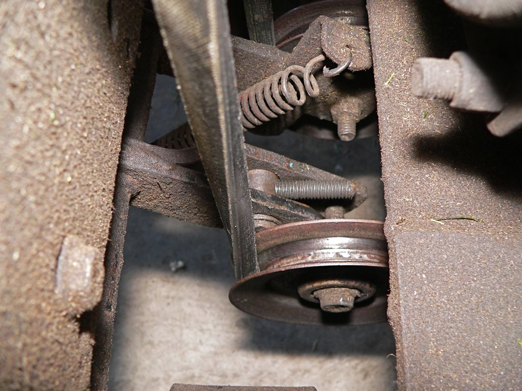 Lawn Mower Belt Tensioner : Modified belt tensioner « rover